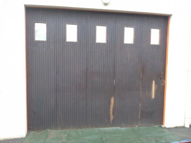 Porte de garage AVANT