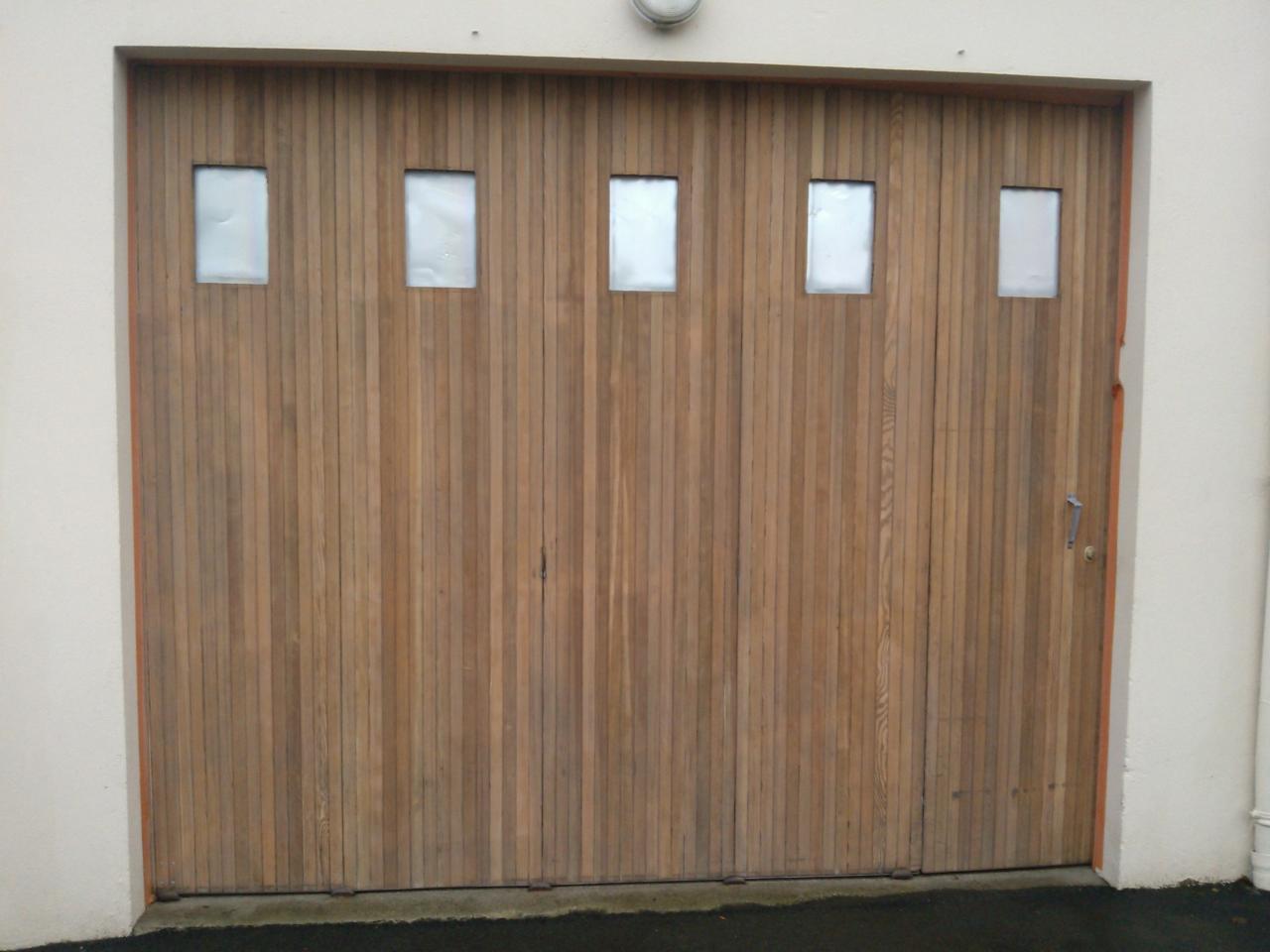 Porte de garage APRES