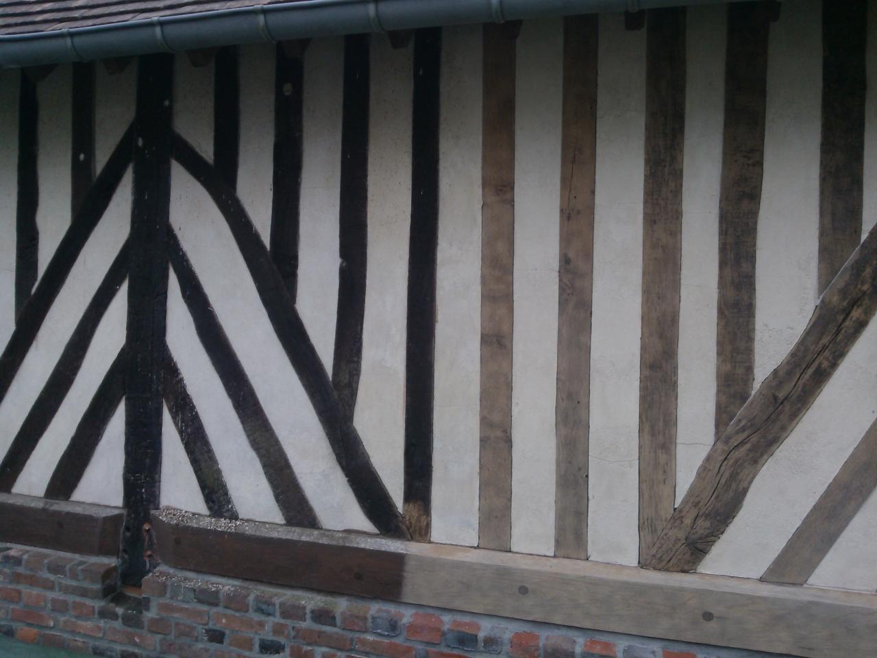 Décapage extérieur maison normande